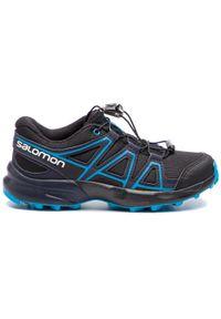 Czarne buty do biegania salomon z cholewką, Salomon Speedcross
