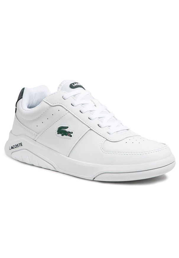 Lacoste Sneakersy Game Advance 0721 2 Sma 7-41SMA00581R5 Biały. Kolor: biały