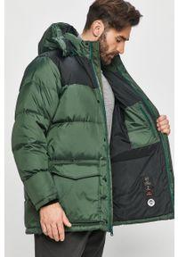 Zielona kurtka Levi's® casualowa, na co dzień, z kapturem