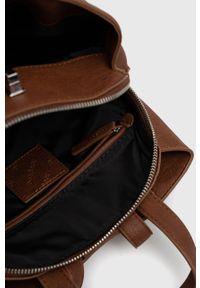Desigual - Plecak. Kolor: brązowy