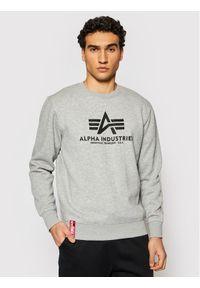 Szara bluza Alpha Industries