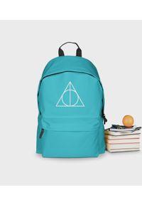 MegaKoszulki - Plecak szkolny Symbol 2 - plecak niebieski. Kolor: niebieski
