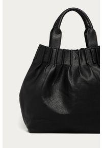 Czarna shopperka Answear Lab na ramię, wakacyjna, duża #5