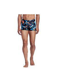 Adidas - Kąpielówki męskie adidas Primeblue Swim Briefs FJ4749. Materiał: tkanina, elastan, nylon, materiał. Długość: długie. Wzór: nadruk, kolorowy