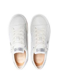 Geox - Sneakersy GEOX - J Kilwi G. B J02D5B 0MABC C1000 S White. Kolor: biały. Materiał: skóra, zamsz. Szerokość cholewki: normalna