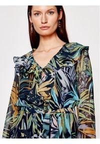 Marella Sukienka codzienna Cicoria 32212711 Kolorowy Regular Fit. Okazja: na co dzień. Wzór: kolorowy. Typ sukienki: proste. Styl: casual