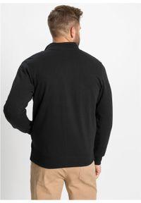 Czarna bluza bonprix ze stójką