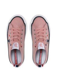 U.S. Polo Assn - Tenisówki U.S. POLO ASSN. - Wave149 WAVE4149S1/CY1 Pink. Okazja: na co dzień. Kolor: różowy. Materiał: materiał. Szerokość cholewki: normalna. Styl: casual
