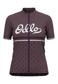 Odlo - ODLO Koszulka rowerowa damska ELEMENT PRINT. Wzór: nadruk