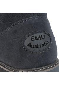 Szare kozaki EMU Australia z cholewką