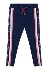 Niebieskie spodnie dresowe Little Marc Jacobs