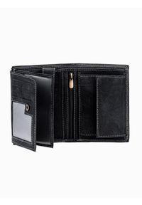 Czarny portfel Ombre Clothing