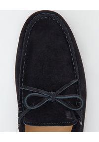 TOD'S - Czarne mokasyny Gommino City. Nosek buta: okrągły. Kolor: czarny. Styl: klasyczny #5