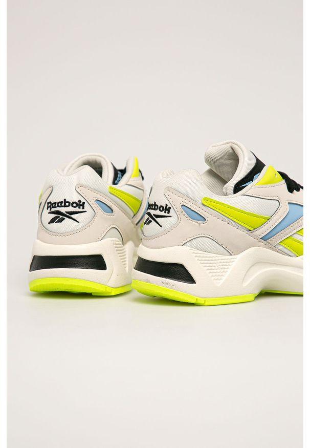 Beżowe buty sportowe Reebok Classic Reebok Classic, na sznurówki, z cholewką