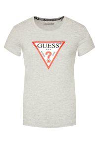 Guess T-Shirt Original W1YI1B I3Z11 Szary Boxy Fit. Kolor: szary