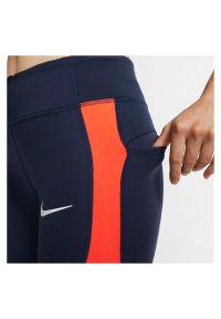 Spodnie damskie do biegania Nike Epic Lux Repel BV4785. Materiał: dzianina, materiał, poliester. Technologia: Dri-Fit (Nike). Sport: fitness