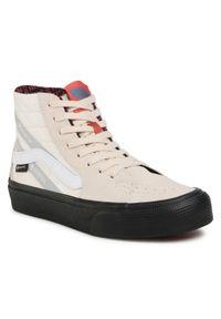 Vans - Sneakersy VANS - Sk8-Hi GORE-TEX VN0A4VJD23G1 Trldovemrshmlw. Okazja: na co dzień. Kolor: beżowy. Materiał: zamsz, skóra, materiał. Szerokość cholewki: normalna. Technologia: Gore-Tex. Sezon: lato. Styl: klasyczny, casual. Model: Vans SK8