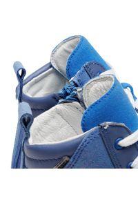 Bartek - Trzewiki BARTEK - 17359-3/0PP Granatowy. Kolor: niebieski. Materiał: skóra, zamsz. Szerokość cholewki: normalna. Sezon: zima