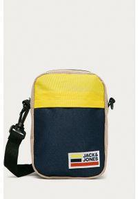 Jack & Jones - Saszetka. Kolor: niebieski