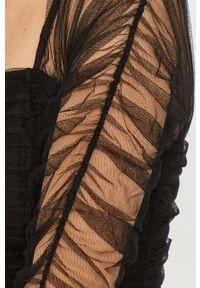 Czarna sukienka Miss Sixty klasyczna, mini, dopasowana