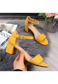 Żółte sandały McKeylor