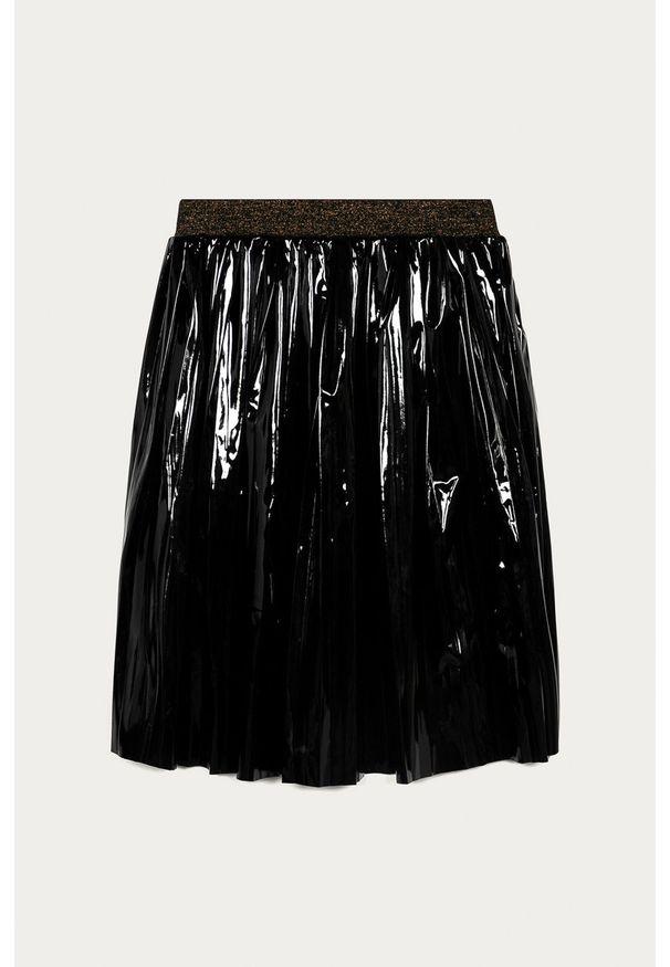 Czarna spódniczka Guess Jeans casualowa, z podwyższonym stanem, na co dzień