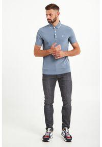 Koszulka polo Armani Exchange polo, sportowa, w kolorowe wzory