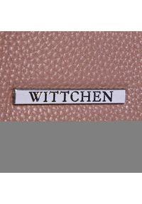 Brązowa torebka klasyczna Wittchen klasyczna