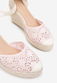 Renee - Różowe Sandały Jennileh. Kolor: różowy