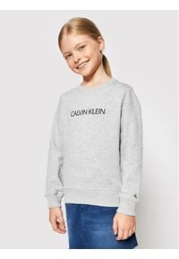 Calvin Klein Jeans Bluza Unisex Institutional Logo IU0IU00162 Szary Regular Fit. Kolor: szary