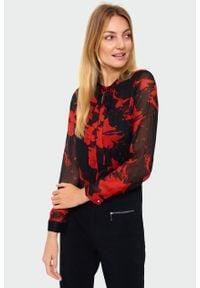 Bluzka Greenpoint elegancka, z nadrukiem