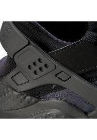 Czarne buty sportowe Nike Nike Air Huarache, z cholewką