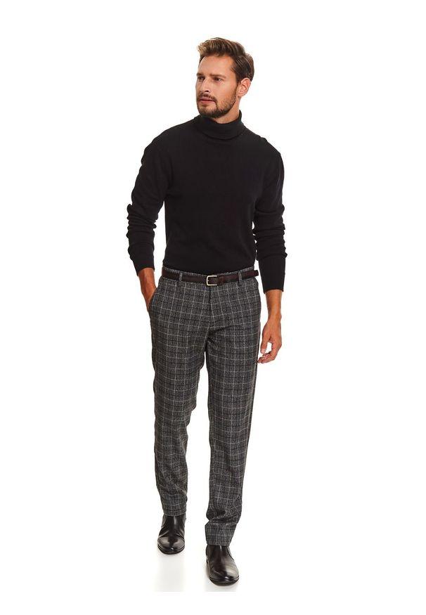 Szare spodnie TOP SECRET długie