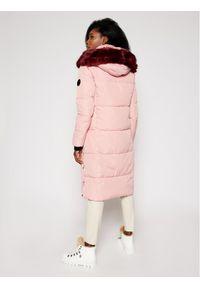Różowy płaszcz zimowy Desigual