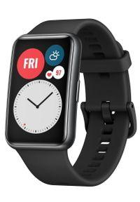 HUAWEI - Huawei Zegarek Watch Fit, Graphite Black. Kolor: czarny. Styl: elegancki