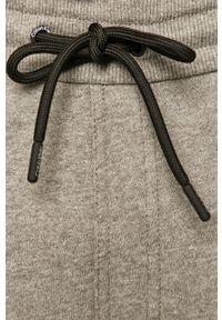Szare spodnie dresowe Calvin Klein gładkie