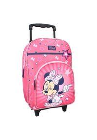 """Vadobag Tornister dla dziewczyn na kółkach """"Myszka Minnie"""" - różowy. Kolor: różowy. Wzór: motyw z bajki"""