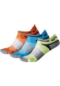 Wielokolorowe skarpetki Asics w kolorowe wzory
