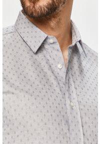 Niebieska koszula Hugo długa, na co dzień, klasyczna