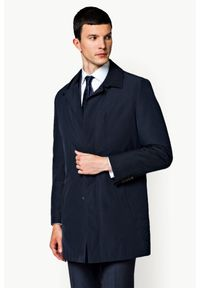 Niebieska kurtka Lancerto klasyczna, na jesień