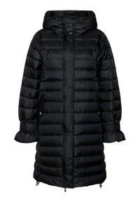 Czarna kurtka zimowa Marella