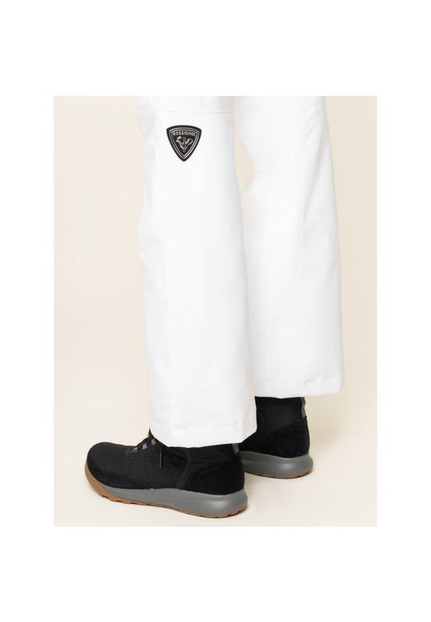 Białe spodnie narciarskie Rossignol