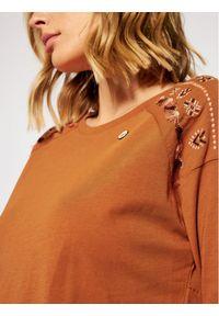 Maloja Bluzka TairankM. 30410-1-8416 Brązowy Regular Fit. Kolor: brązowy