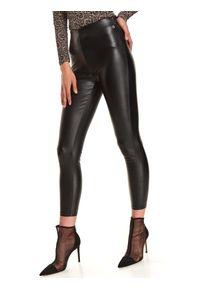 Czarne legginsy TOP SECRET