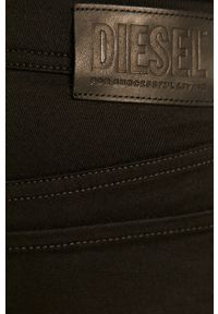 Diesel - Jeansy Sleenker. Kolor: czarny