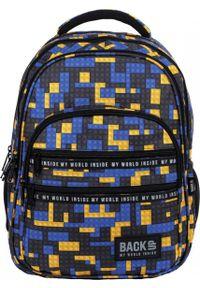 Niebieski plecak Derform