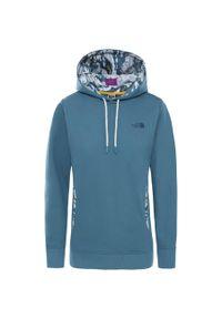 Niebieska bluza sportowa The North Face