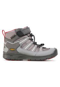 Szare buty trekkingowe keen sportowe
