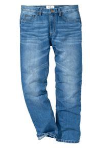 Dżinsy Regular Fit Straight bonprix Dżinsy RF Str T ni.den. Kolor: niebieski