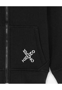 Kenzo kids - KENZO KIDS - Czarna bluza z logo Sport 6-12 lat. Kolor: czarny. Materiał: materiał, prążkowany. Długość rękawa: długi rękaw. Długość: długie. Sezon: lato. Styl: sportowy